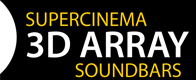 Supercinema 3D Array Soundbars