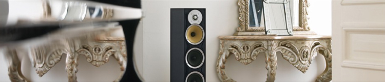 CM Series, Bowers & Wilkins Audio, Double Dome Tweeter amplifier , Three bass divers system