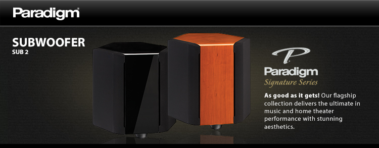 subwoofers paradigm high-end, home theater performance high-end