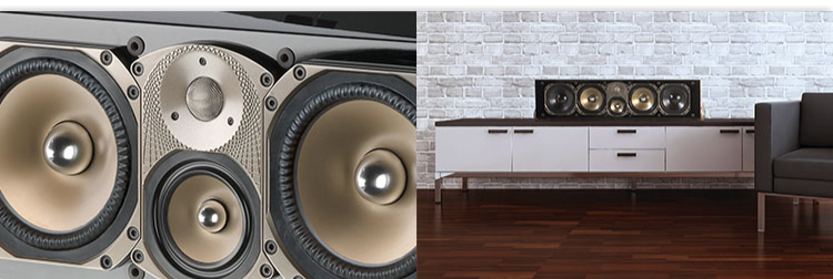 scollections high-end, center channel signature speaker high-end